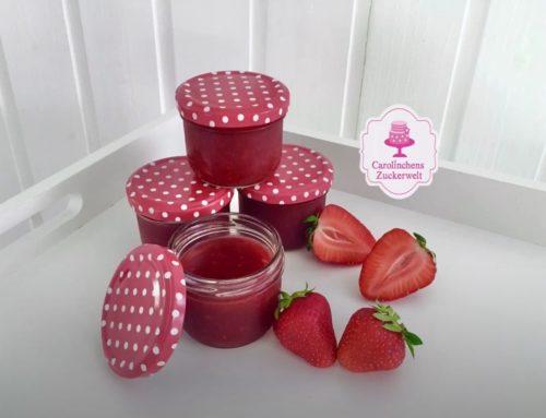 Erdbeermarmelade Grundrezept