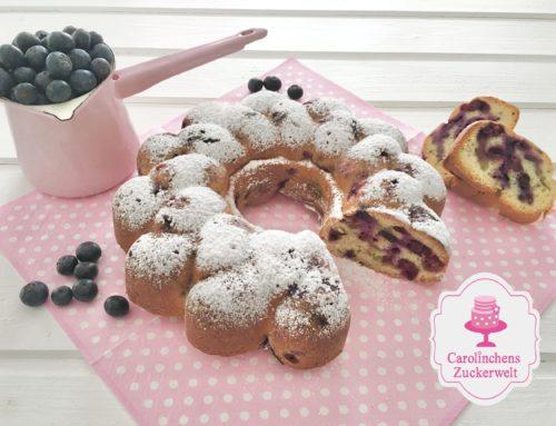 Blaubeer-Vanille-Kuchen