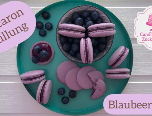 Macaron Füllung Blaubeere